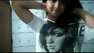 college girl self record video ~ Desi Indian Movies low