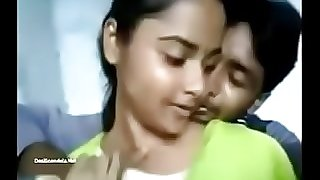 Indian Girl Rajini Permitted Boobs Press Video